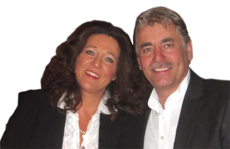 Reinhard Bezold mit Ehefrau